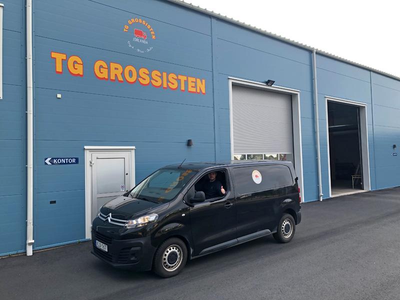 TG Grossisten servicebil